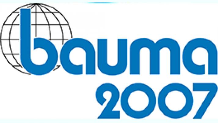28-я международная торговая ярмарка строительного машиностроения, материалов и оборудования bauma 2007